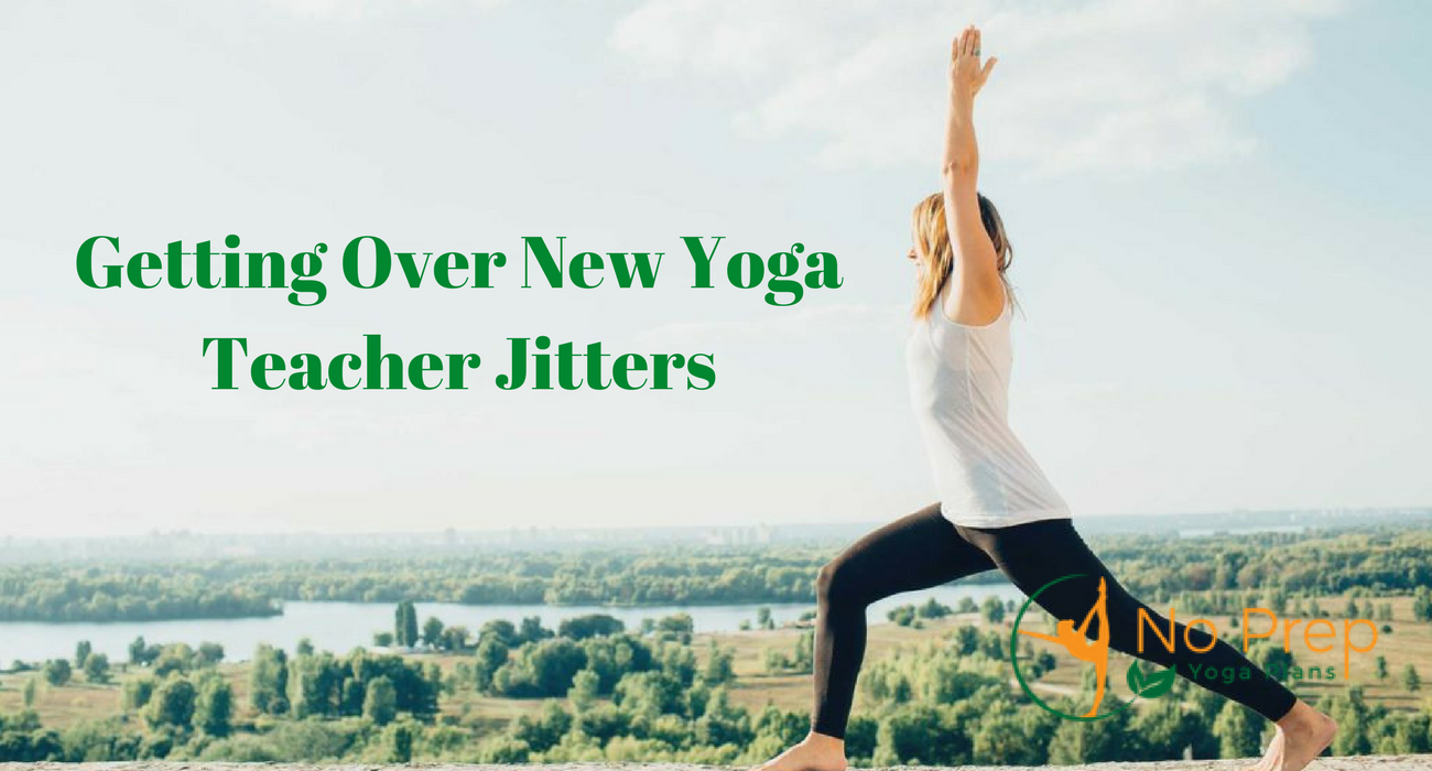 Read more about the article Getting Over New Yoga Teacher Jitters