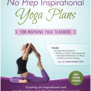 No Prep Yoga Plans Inspirational Hard Copy Binder