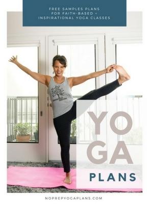 yoga class lesson plans free sample
