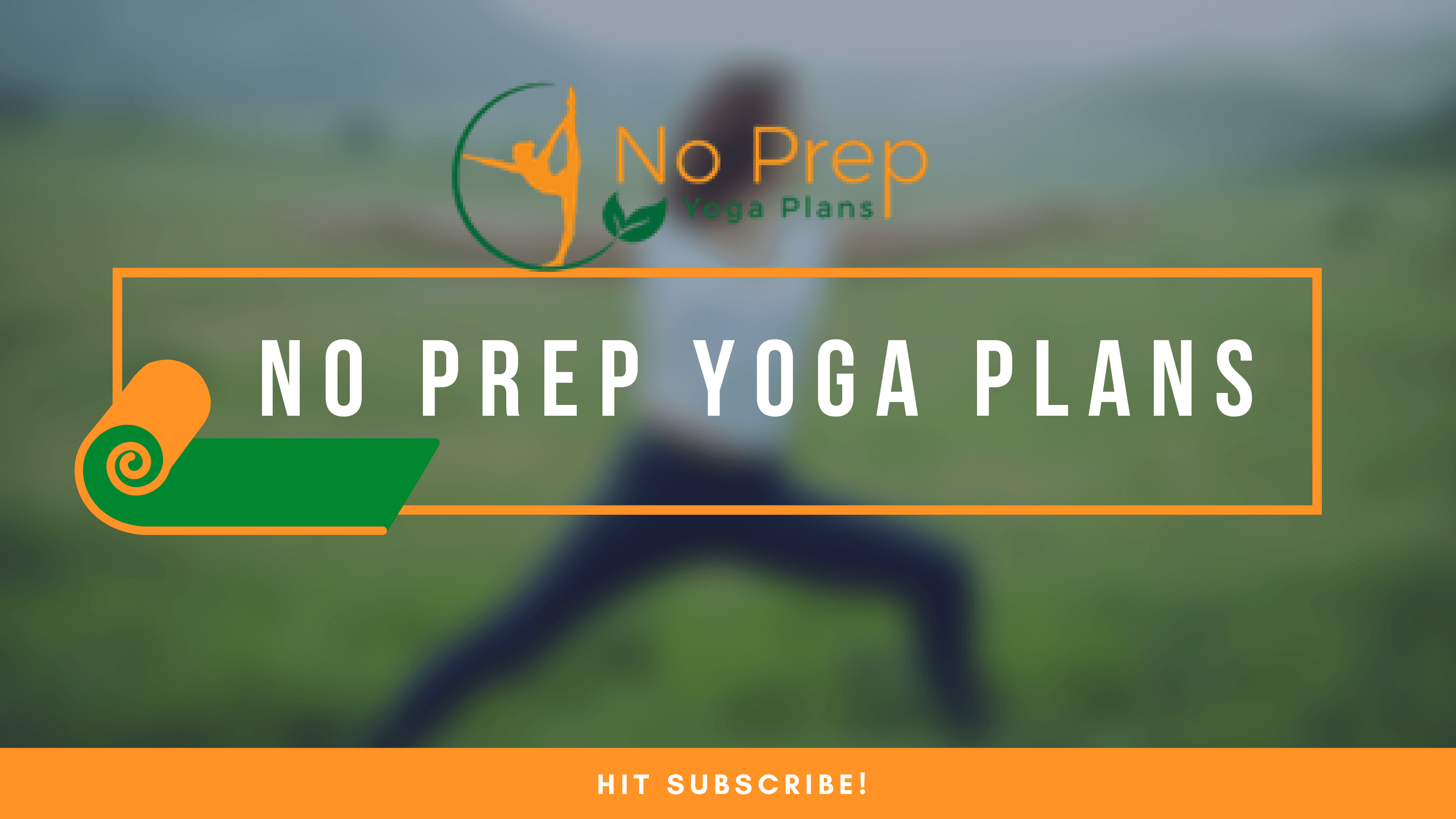 no prep yoga class plans
