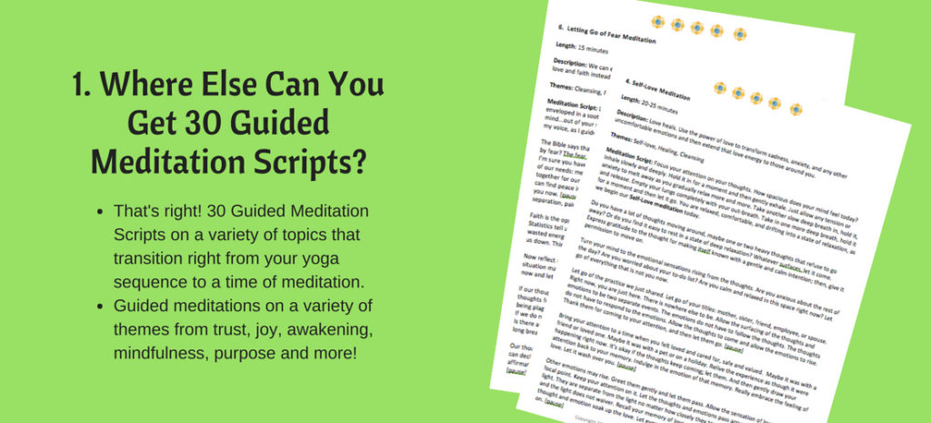 Guided Meditation Scrips