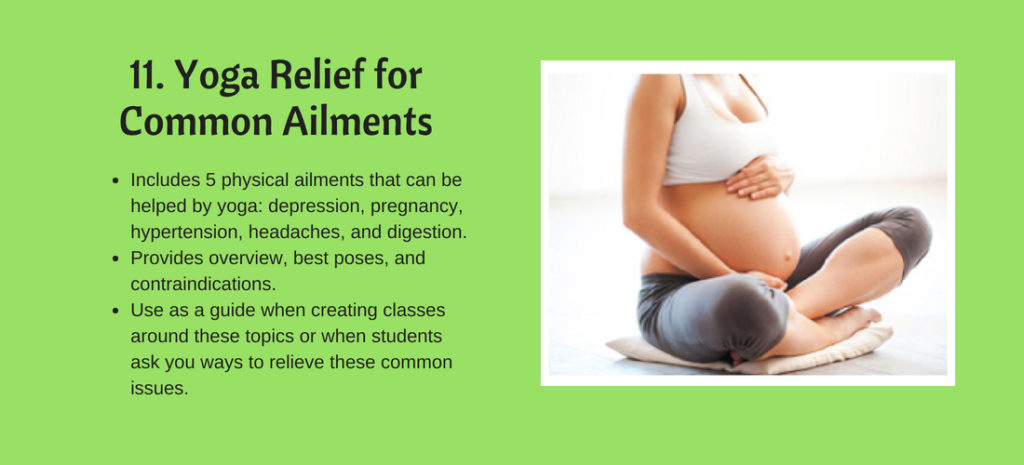 Yoga Relief for Common Ailments