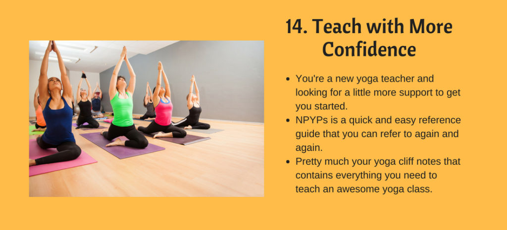 teach yoga with more confidence