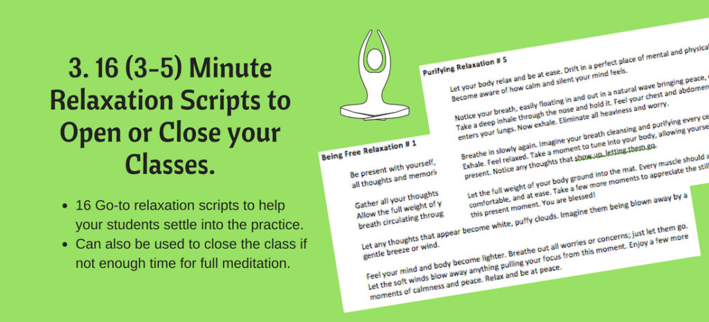 yoga relaxation scripts