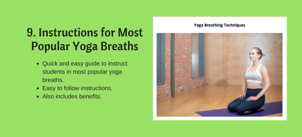 Yoga breaths instructions