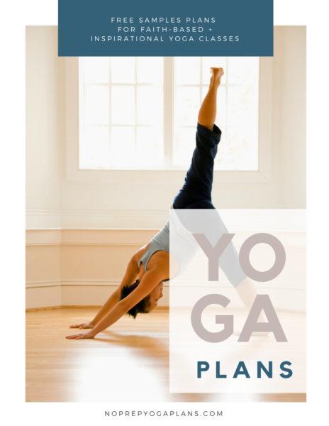 Themed Yoga Lesson Plans