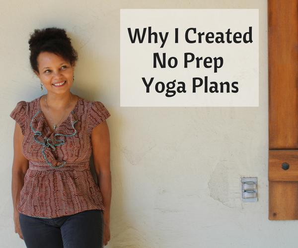 about no prep yoga plans