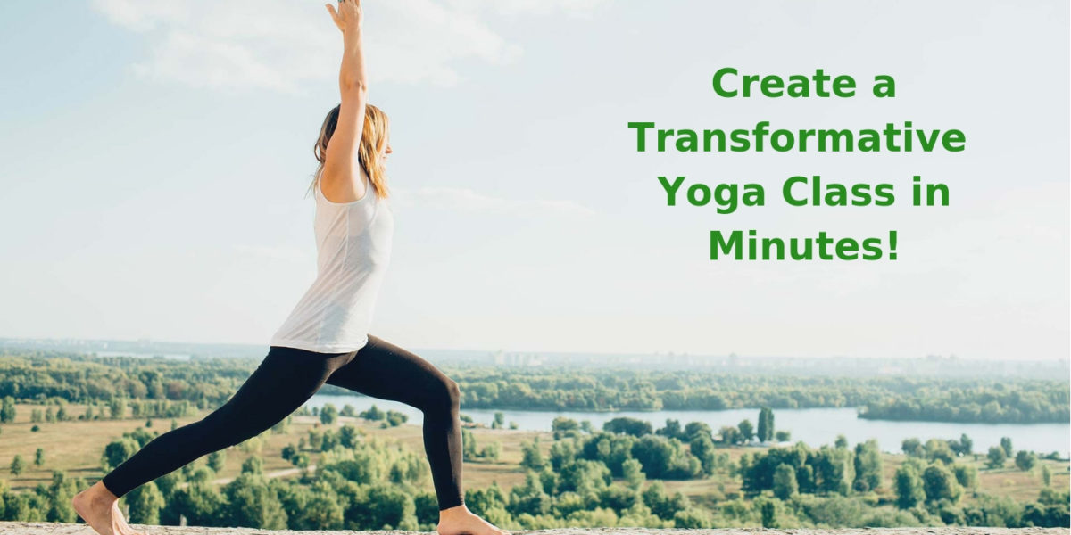 Create a Yoga Class Lesson Plans in Minutes