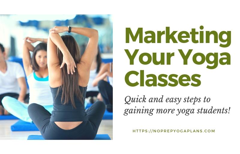 marketing yoga classes