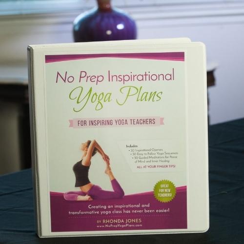 no prep inspirational yoga plans