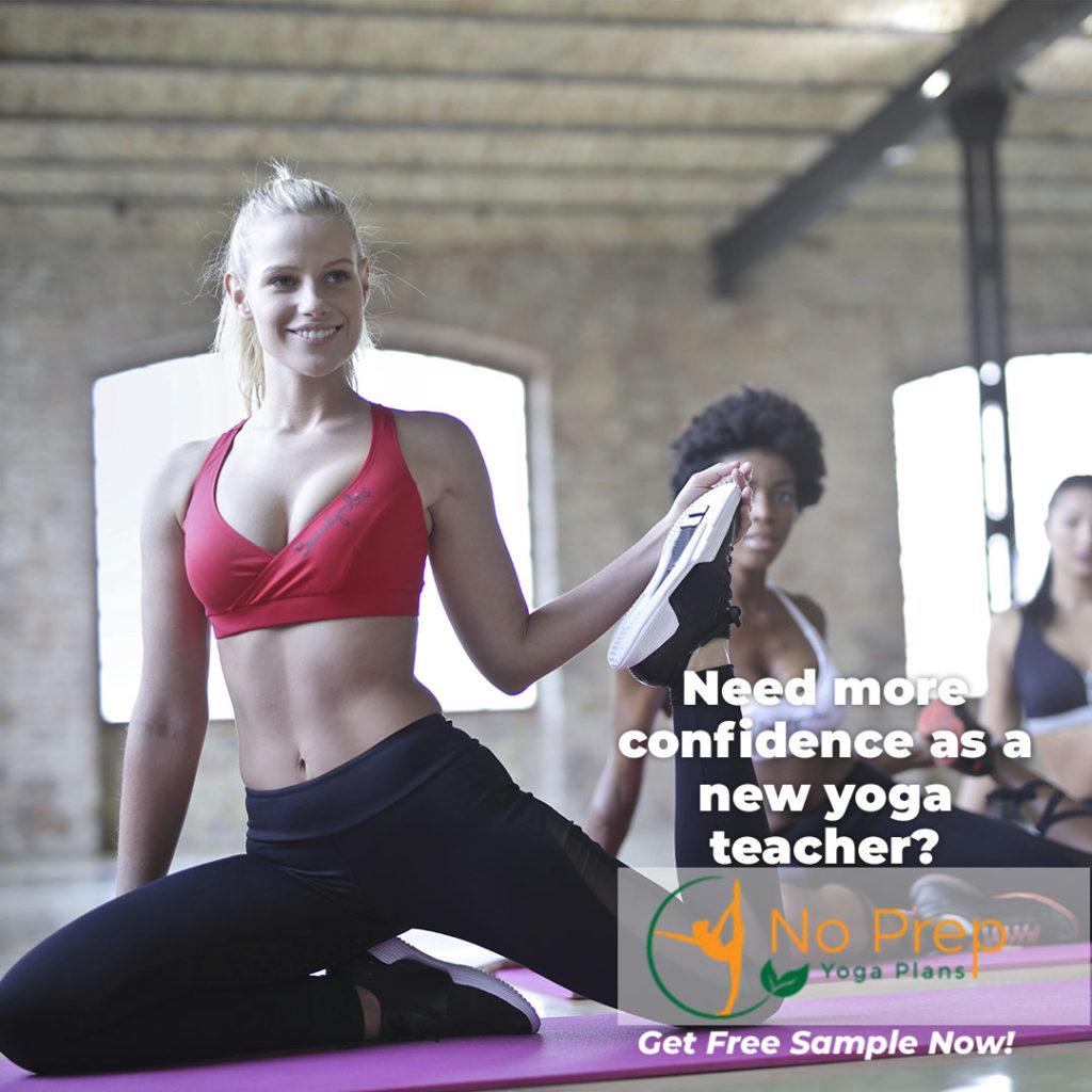 New yoga teacher