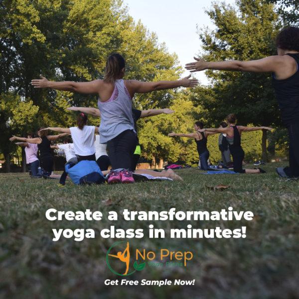 Creating a yoga class