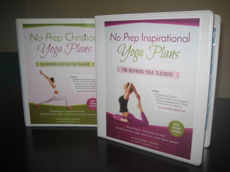 no prep yoga plan binders