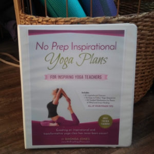 No Prep Yoga Plans Inspirational Hard Copy Binder
