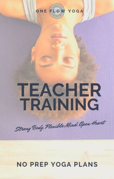 yoga teacher training book